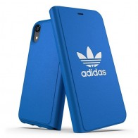 Adidas Originals Booklet Case iPhone XR Blauw 01