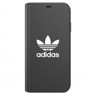 Adidas Booklet Case iPhone Xs Max zwart 01