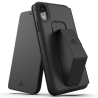 Adidas Folio Grip Case iPhone XR Zwart 01