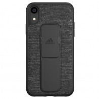 Adidas Grip Case iPhone Xr zwart 01
