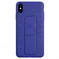Adidas Grip Case iPhone XS Max hoes Blauw 01