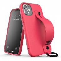 Adidas Hand Strap Case Phone 12 Mini 5.4 Roze - 1