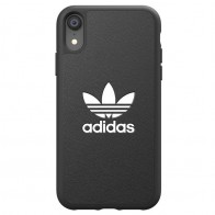Adidas Moulded Case iPhone Xr zwart 01