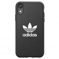 Adidas Moulded Case iPhone Xr zwart 01