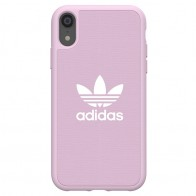 Adidas Moulded Case Canvas iPhone Xr roze 01