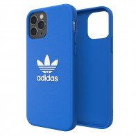 Adidas Moulded Case Trefoil iPhone 12 / 12 Pro 6.1 Blauw  - 1