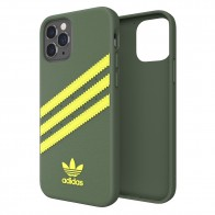 Adidas Moulded Case iPhone 12 / 12 Pro 6.1 Groen/geel - 1