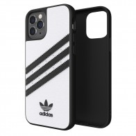 Adidas Moulded Case iPhone 12 / 12 Pro 6.1 Wit/zwart - 1