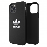 Adidas Moulded Case Trefoil iPhone 12 / 12 Pro 6.1 Zwart - 1