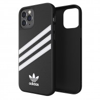 Adidas Moulded Case iPhone 12 / 12 Pro 6.1 Zwart/wit - 1