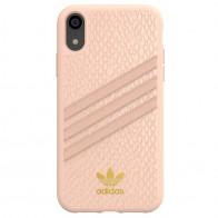 Adidas Moulded Case Snake iPhone Xr roze 01