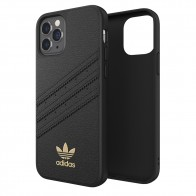 Adidas Moulded Case Premium iPhone 12 / 12 Pro 6.1 Zwart - 1