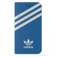 Adidas Originals Booklet Case iPhone 7 Bluebird/White - 1