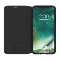 Adidas Originals - Booklet Case iPhone X/Xs Zwart - 1