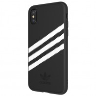 Adidas Originals Moulded iPhone X/Xs Case Black/White Stripes 01