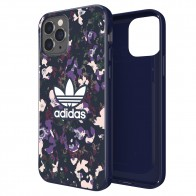Adidas Snap Case Camo iPhone 12 / 12 Pro 6.1 Paars - 1