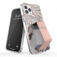 Adidas Clear Grip Case iPhone 12 / 12 Pro 6.1 Roze/transparant - 1