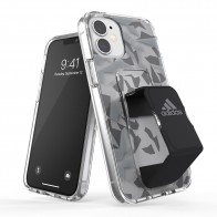 Adidas Grip Case Clear iPhone 12 Mini 5.4 Grijs/transparant - 1