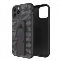 Adidas Grip Case Camo iPhone 12 / 12 Pro 6.1 Zwart Iridescent - 1
