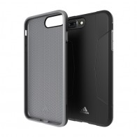 Adidas SP Solo Case iPhone 8 Plus/7 Plus Zwart/Grijs - 1