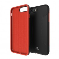 Adidas SP Solo Case iPhone 8 Plus/7 Plus Zwart/Rood - 1