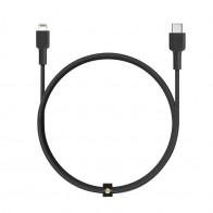 Aukey USB-C to Lightning Kabel 1,2m Zwart 01