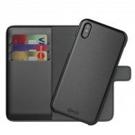 BeHello 2-in-1 Wallet Case iPhone X Zwart 01