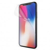 BeHello Anti-Fingerprint Gloss Screenprotector iPhone X 01