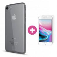 BeHello Transparante Hard Case iPhone 8/7 - 1