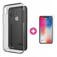 BeHello - Transparante Hard Case iPhone X/XS - 1