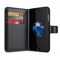 BeHello Portemonnee Hoes iPhone 8/7/6S/6 Zwart - 1