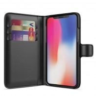 BeHello Wallet Case voor Apple iPhone X Zwart 01