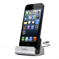 Belkin Lightning Dock Black/Silver - 1