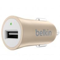 Belkin - Mixit Metallic Autolader 2,4A Gold 01