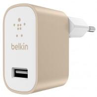 Belkin - Mixit Metallic Wandoplader Universeel 2,4A Gold 01