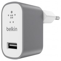 Belkin - Mixit Metallic Wandoplader Universeel 2,4A Grey 01