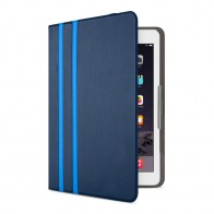 Belkin Twin Stripe Folio iPad 2017/Pro 9.7/Air 2/Air Blauw - 1