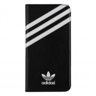 Adidas Booklet Case iPhone 6 Plus Black/Silver - 1