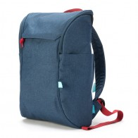 Booq Daypack 15,6 inch Laptop Rugzak Navy-Red 01