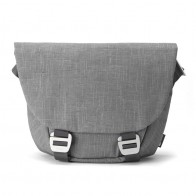Booq - Shadow 15 inch Laptop Messenger Grey Fiber 01