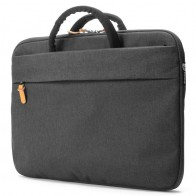 Booq - Superslim 13 inch Laptoptas Black Tan 01