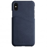 Bugatti Londra Ultra Suede iPhone X Blue
