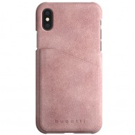 Bugatti Londra Ultra Suede iPhone X Opal Pink - 1