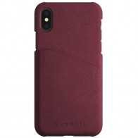 Bugatti Londra Ultra Suede iPhone X Raspberry Red - 1