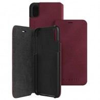 Bugatti Parigi Ultra Suede iPhone X/Xs Raspberry Red - 1