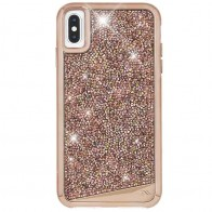 Case-Mate Brilliance Case iPhone XS Max Rose Goud 01