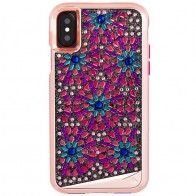 Case-Mate Premium Brilliance Case iPhone X Brooch 01