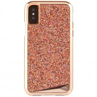Case-Mate Premium Brilliance Case iPhone X Rose Gold 01
