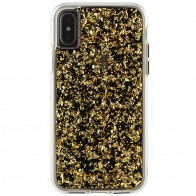 Case-Mate Karat Case iPhone X Gold 01
