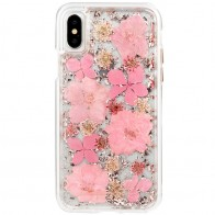 Case-Mate Karat Petals iPhone X Bloemen Roze 01